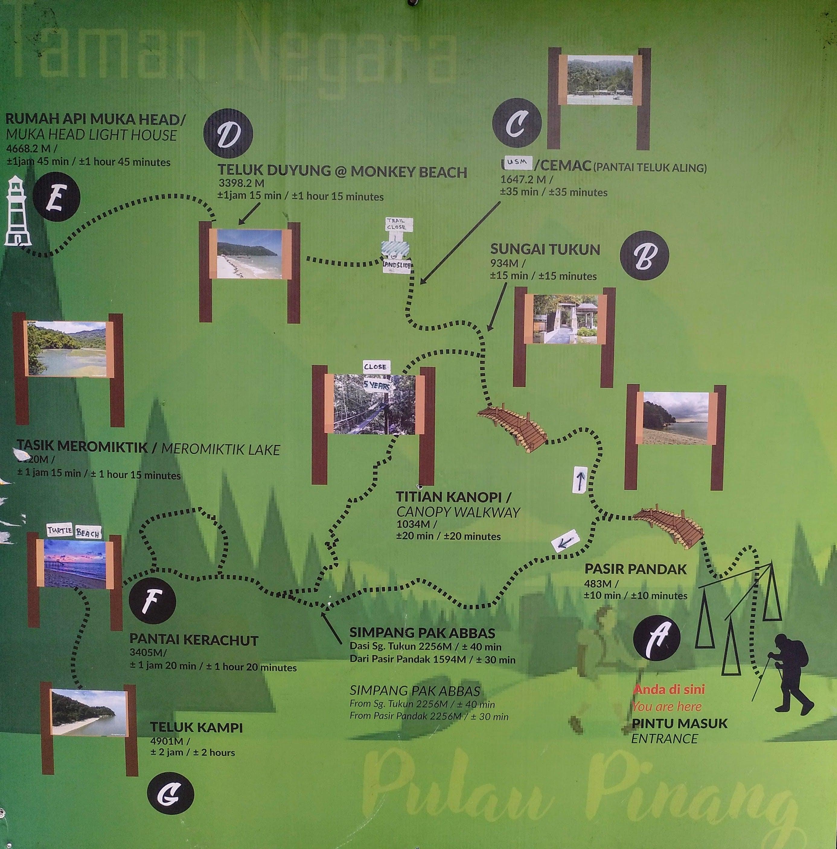 como-dar-la-vuelta-al-mundo-mapa-national-park-penang